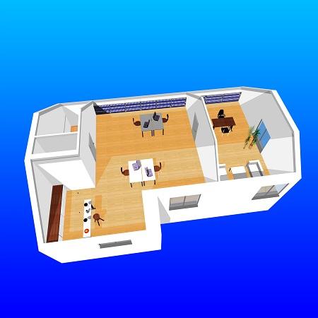 ein dachgeschossausbau die umbauidee. Black Bedroom Furniture Sets. Home Design Ideas